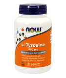 NOW FOODS L-Tyrosine 500mg 120 kaps.