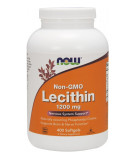 NOW FOODS Lecithin 1200mg 400 kaps.