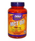 NOW FOODS MCT Oil 1000mg 150 kaps.