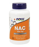 NOW FOODS NAC 600mg 100 kaps.