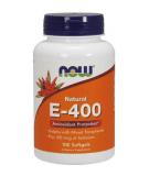 NOW FOODS Natural E-400 + Selenium 100 kaps.