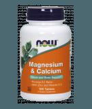 NOW FOODS Magnesium & Calcium 100 tab.