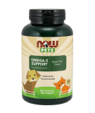 NOW FOOD PETS Omega-3 Support 180 softgels