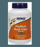 NOW FOODS Psyllium Husk Caps 500mg 200 kaps.