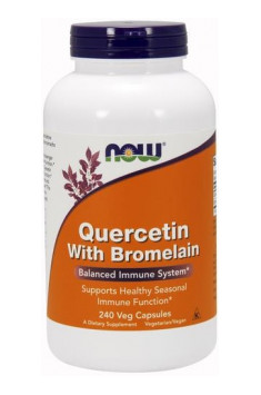 Quercetin with Bromelain