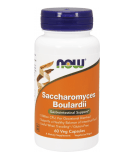 NOW FOODS Saccharomyces Boulardii 60 kaps.
