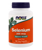 NOW FOODS Selenium 200mcg 180 kaps.