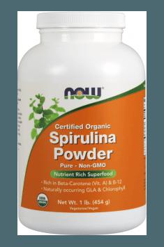 Spirulina Powder Certified Organic