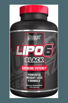 Lipo-6 Black, spalacz tłuszczu