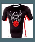 POUNDOUT Rash Guard Spider