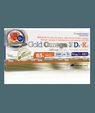 OLIMP Gold Omega-3 D3 + K2 30 kaps.