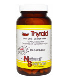 NATURAL SOURCES Raw Thyroid 180 kaps.