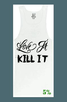 Ribbed Tank Top Love It Kill It