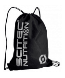 SCITEC Gym Sack (Black / Silver)