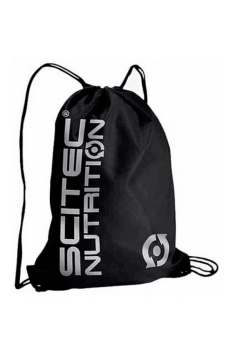 Gym Sack (Black / Silver)