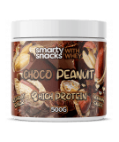 SMARTY SNACKS Choco Peanut with whey 500g