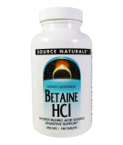 SOURCE NATURALS Betaine HCl 180 tab.