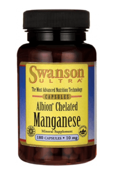 Albion Chelated Manganese 10mg