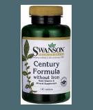 SWANSON Century Formula without Iron 130 tab.
