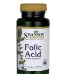 SWANSON Folic Acid 250 kaps.