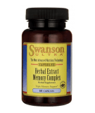 SWANSON Herbal Extract Memory Complex 60 kaps.