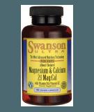 SWANSON Albion Chelated Magnesium & Calcium 2:1 Mag:Cal 90 kaps.