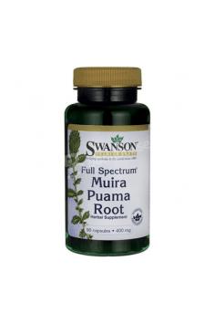 Muira Puama Root 400mg