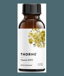 THORNE Vitamin D/K2 30 ml